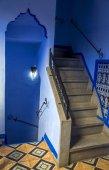 Niebieskie drzwi — Zdjęcie stockowe