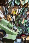 создание обуви — Стоковое фото