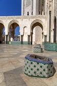 Mosque Hassan II in Casablanca, Morocco — Stock Photo