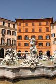 广场纳沃纳广场,罗马,意大利 — 图库照片