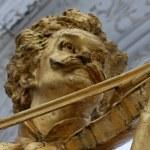 Statue of Johann Strauss in stadtpark in Vienna, Austria — Stock Photo #60694853