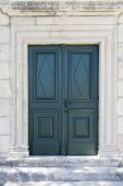 Old door from Hvar, Croatia — Stock Photo