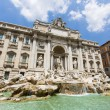Trevi fountain in Rome, Italy — Stock Photo #61709185