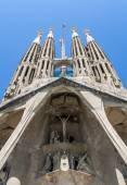 Sagrada Familia church in Barcelona — Stock Photo