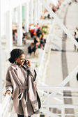 Young black woman — Stock Photo