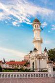 Kapitan Keling Mosque in George Town, Penang, Malaysia — Stock Photo