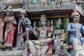 Sri Mariamman Temple, Singapore — Fotografia Stock