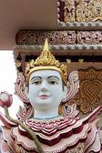 Dhamikarama Burmese Temple in Penang, Malaysia — Stock Photo