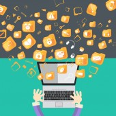 Internet-konzept — Stockvektor