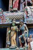 Sri Mariamman Temple, Singapore — Stock Photo