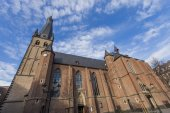St. Lambertus church in Dusseldorf — Stock Photo