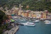 Вид Портофино, Италия — Стоковое фото