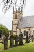 St Anne Church cemetery — Stock Photo