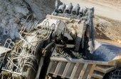 Open pit machinery — Stock Photo