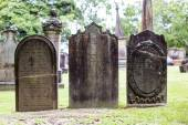 St Anne Church cemetery — Stock Photo