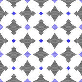 Dot textured pattern with gay and blue — Stockvector