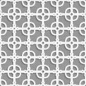 Geometrical ornament with white dots texture — Stockvector