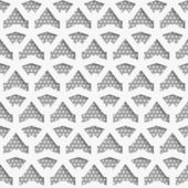 White 3d net on textured white and gray pattern — Stock Vector