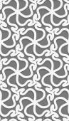 White 3d wavy pattern — Stockvector