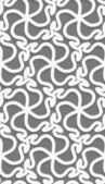 White 3d wavy pattern — Stockvektor