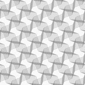 Monochrome pattern with intersecting thin lines forming stars on — Stock Vector