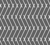 Monochrome pattern with gray intersecting lines forming vertical — Stock Vector