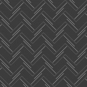 Monochrome pattern with doubled strips forming horizontal zigzag — Vecteur