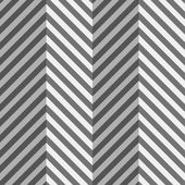 Geometrical pattern with gray and black zigzag lines with folds — Stock Vector