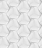 Slim gray sea shells — Stock Vector