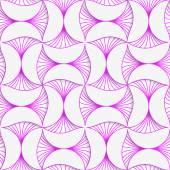 3D purple striped pin will — Stock Vector