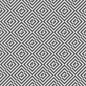 Alternating black and white diagonally cut squares — Stock Vector