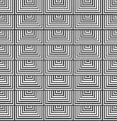Alternating black and white half squares — Stock Vector