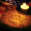 We do not forget you — Stock Photo #52063279