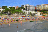 Capellans beach in Salou, Spain — Stock Photo