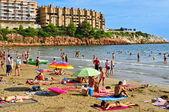 Capellans beach in Salou, Spain — Stock Photo