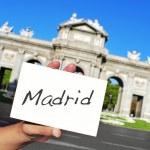 La Puerta de Alcala in Madrid, Spain — Stock Photo #52993311