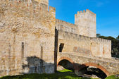 Castle of Sao Jorge in Lisbon, Portugal — Stock Photo