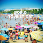 World tourism day — Stock Photo