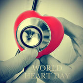 World heart day — Stock Photo