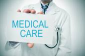 Medical care — Stock Photo