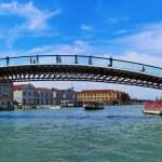 Ponte della Costituzione over the Grand Canal in Venice, Italy — Stock Photo #55069503