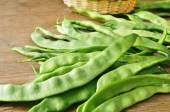 Zielonej fasolki szparagowe — Zdjęcie stockowe