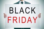 El viernes negro — Foto de Stock