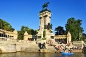 Parque del Retiro in Madrid, Spain — Stock Photo