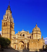 Cathedral of Saint Mary of Toledo, Spain — Stock Photo