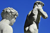Replica of the David by Michelangelo in Florence, Italy — Stock Photo
