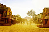 Old west town in Fort Bravo Texas Hollywood, in Spain — Stock Photo