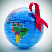 World fight against AIDS — Stock Photo