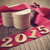 2015, as the new year — Stock Photo
