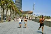 Seafront of Barcelona, Spain — Stock Photo